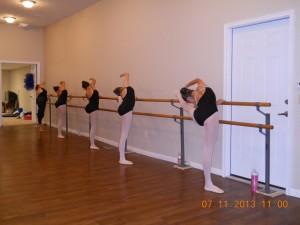 Inna Ballet Summer Intensive Students